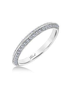 Classic wedding ring | Karl Lagerfeld | http://trib.al/XaSoZrj