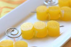 Mini Mimosas (1/4 cup boiling water, 1 package orange jello gelatin, 1/3 cup champagne)