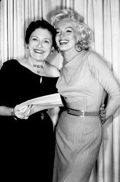 Marilyn at Louella Parsons' Radio Show, May 20th 1953.