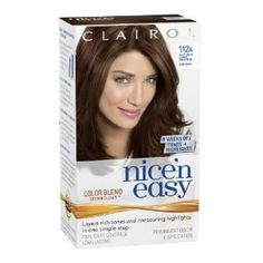 Clairol Nice 'n Easy Hair Color... really love the Color Blend Technology <3