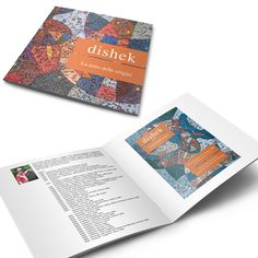 Brochure Dishek - Creativity, design and print by GiòArt