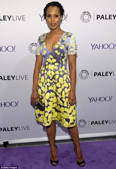That's a wrap! Kerry Washington attended an evening with the Scandal cast presented by The Paley Center For Media at The Paley Center For Media in New York City on Thursday