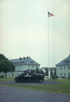 downs barracks, fulda, germany. 11th armored calvary regiment HQ & the site of my first ever job.