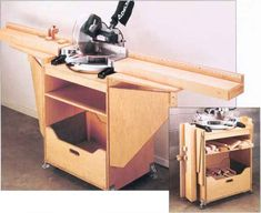Chop Saw Storage
