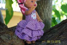 Ravelry: Kelly Ruffled Party dress pattern by Lynne Sears