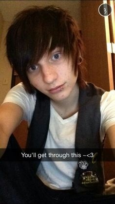how to get an emo guy to like you