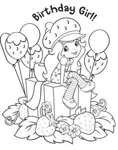 12 strawberry shortcake birthday party printable coloring pages - Monster High Coloring Pages Cupid