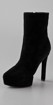 Theyskens' Theory Stil Suede Platform Es 38.5 Black Boots Size: 8.5New with tags 58% off Retail WAS $425.00 NOW $175.00 Free shipping