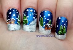 A British Blogging Christmas - Sam from Fingerfood Nails