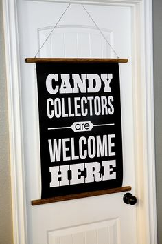 Candy Collectors Free Halloween Print