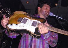 Tab Benoit = wonder how many Courvoisier's he'd had when this picture was taken :-)