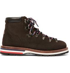 Moncler - Peak Nubuck Hiking Boots