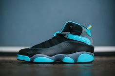 Air Jordan 6 Rings 'GAMMA BLUE' Custom Sneakers Ⓙ_⍣∙₩ѧŁҝ!₦ǥ∙⍣
