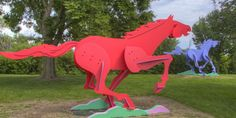 Contemporary Sculpture Park in Chicago, IL