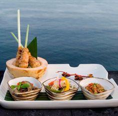 Bali - Bulgari Hotel Resort food