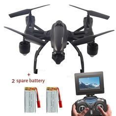 JXD 509G 5.8G FPV Altitude Hold RC Quadcopter Drones with Camera+2Spare Battery