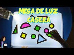 DIY COMO HACER UNA MESA DE LUZ CASERA PARA NIÑOS | Maestros de Audición y Lenguaje
