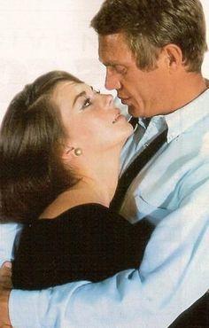 Steve McQueen, Natalie Wood. Love.
