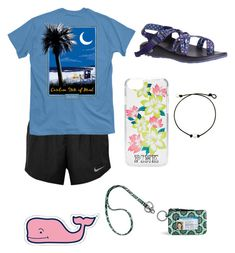 """"" by kaelyn-grace-1 on Polyvore featuring NIKE, Chaco, Victoria's Secret and Vineyard Vines"