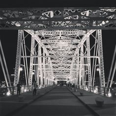Night Walk - Nashville.  Next time I visit I want to find this!  Silly,  but it's so beautiful