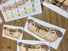 hotdog number fill ins