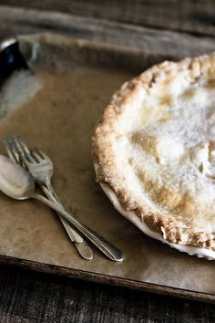 Home made peach pie...... via @Country-bumpkin