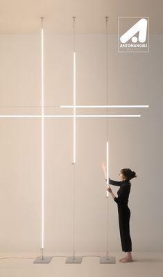 Element Lighting, Lighting Concepts, Lighting Design, Modern Exterior Lighting, Interior Lighting, Modern Lighting, High Ceiling Lighting, Cool Lighting, Ceiling Lights