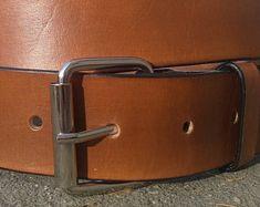 Leather Belt, Chrome Buckle,Standart Minimal, Classic Brown, Hip Belt, Groomsman, Leather Belt Strap, Genuine Leather belt, Belt, bdsm Belt