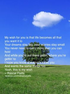 My wish for all of you!