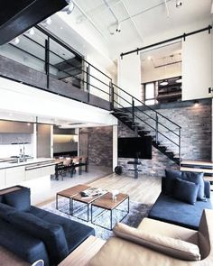 Modern style home decor bachelor pad masculine interior design 3 loft home loft apartment decorating modern