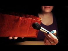 Binaural ASMR. 3Dio Mic in a Box (Tapping, Scratching, Brushing) - YouTube