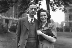 All Grown Up Christopher Robin Milne, pictured here with his fiance Lesley Selincourt in 1948, received a scholarship to Cambridge,