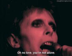 David Bowie as Ziggy Stardust Rock N Roll Suicide