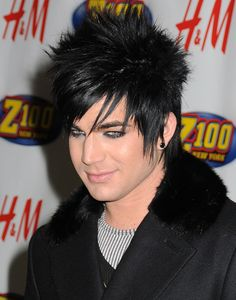 Adam lambert emo hair style