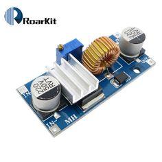 5A XL4015 DC-DC ABAISSEUR Réglable Module D'alimentation LED Lithium Chargeur