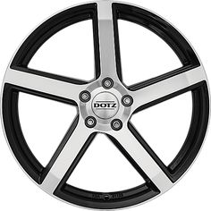 DOTZ CP5 Dark - Alloy rim suitable for winter use black polished Elantra Car, Car Mods, Black Polish, Badge, Winter, Ideas, Winter Time, Black Enamel, Thoughts