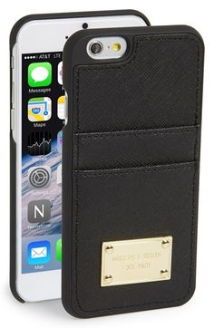 Free shipping and returns on MICHAEL Michael Kors Card Holder iPhone 6 Case at Nordstrom.com. A polished logo plate elevates a hard-shell iPhone case that doubles as a convenient card holder.