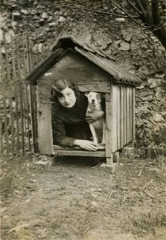 Vera quickly found she actually preferred sleeping in the doghouse to bed with her husband.1925