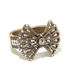 "Heidi Daus ""Park Avenue"" Crystal-Accented Bangle Bracelet at HSN.com"