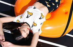 Daffy Head Crop Top & Despicable Mini Skirt