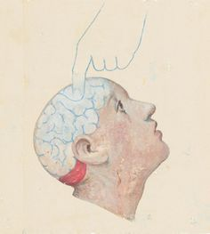 Illustration by Gérard Dubois for an article in the Fall 2005 Stanford Medicine Magazine on the science and ethics of exploring the mind.