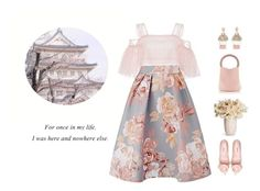 """Sem título #276"" by ulzzwng ❤ liked on Polyvore featuring Costarellos, Marni and Oscar de la Renta"