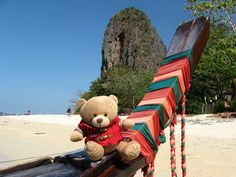 Plaza na poluostrvu Rai-Leh, Tajland