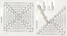 большие квадратные мотивы крючком схемы: 14 тыс изображений найдено в Яндекс.Картинках