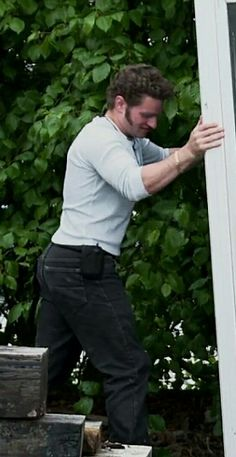 """ali-sun: """" Okay seriously though…That butt, those arms, those hands.. just over all.. Damn Gabe. Work it! """" Oh. My. Gawd!!"""