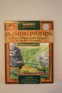 Planting Patterns Design Kidney Shape Garden Colour Plan List Picture Reference #GardenGraphics
