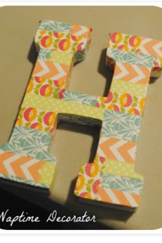 Use scrap paper to add a little bit of your own style onto your letter, great for decoration!
