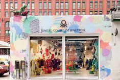 Storefront | The Art of Knit by United Colors of Benetton, New York