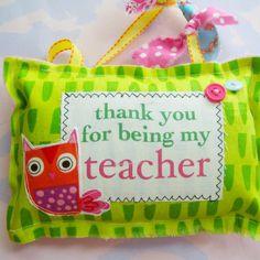 Easy sew teacher gift