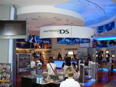 Nintendo World Store in New York Nintendo Store, Nintendo World, Nintendo Ds, I Never Lose, New York City, Things To Come, Games, New York, Gaming